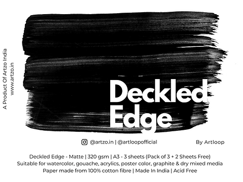 Deckled Edges by Artloop A3 - Matte