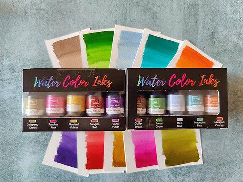 Beyond Inks Watercolor Inks Set of 10 Mini Inks - Pack 1