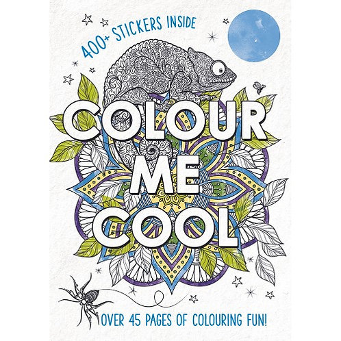 Colour Me Cool - Adulting Colouring Book