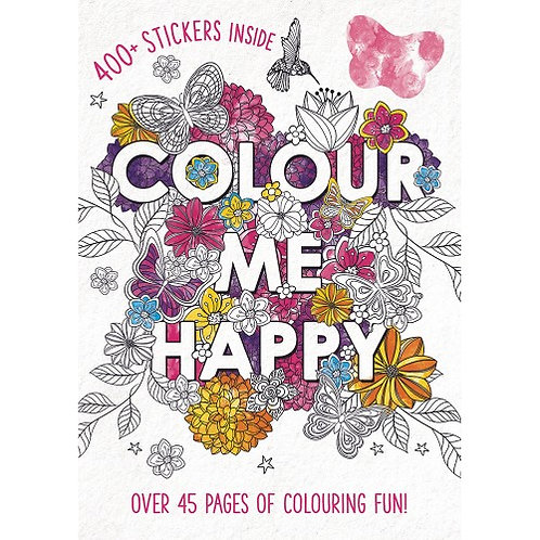 Colour Me Happy - Adult Colouring Book