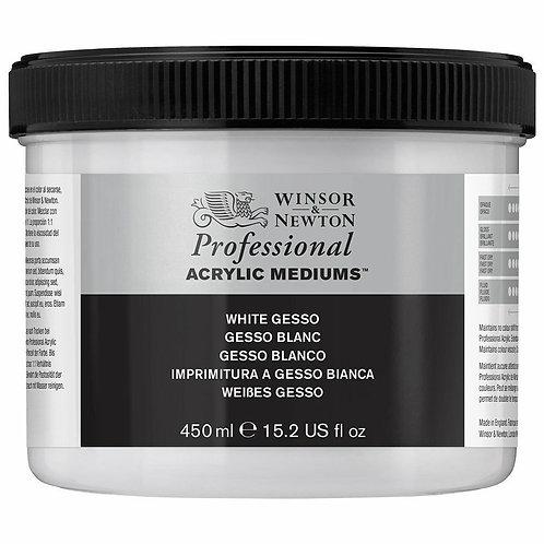 Winsor & Newton White Gesso Primer - 450ml