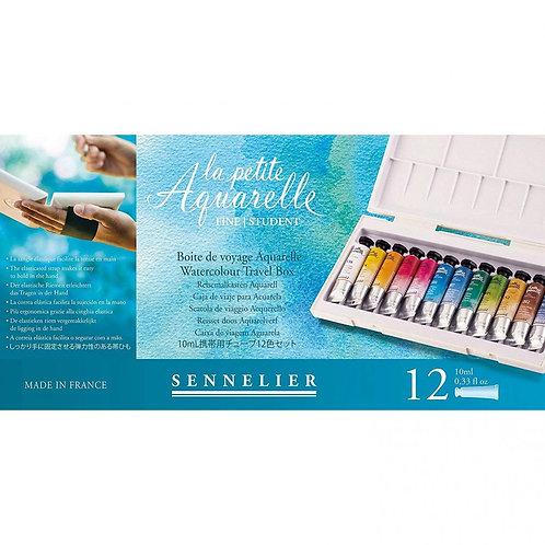 Sennelier La Petite Fine Watercolour - 12 x 10ml