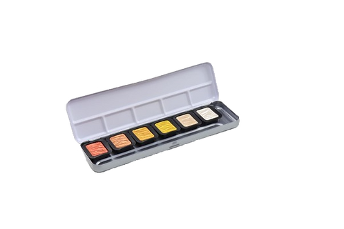 Fine Tec F0600SPearlescent Colours- Set of 6