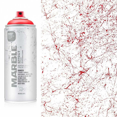 Montana Marble Effect Spray - Marble Red