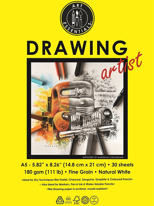 Art Essentials Drawing Artist Polypacks - A5