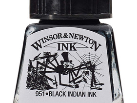 Review: Winsor & Newton Black Indian Ink
