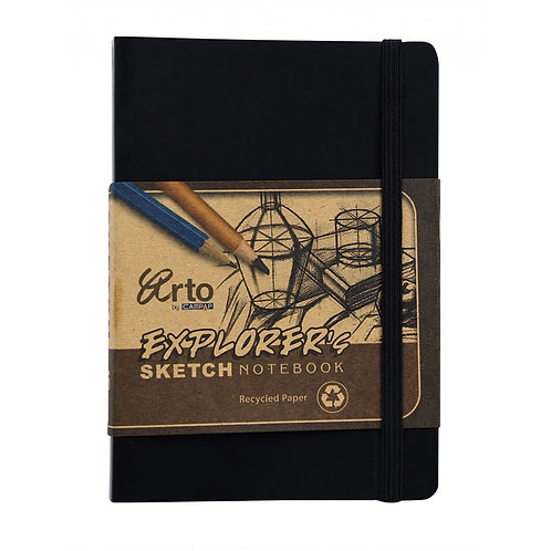 Arto Explorer Sketch Notebook - Nero Cover - A5