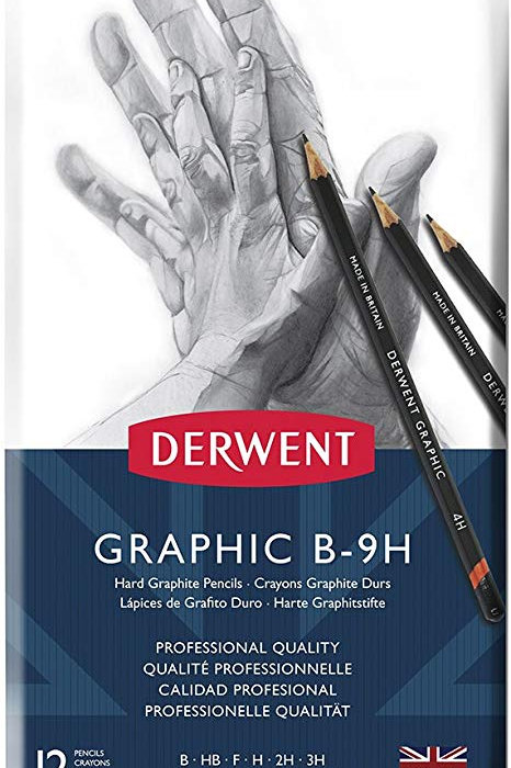Derwent Graphic Technical Drawing Pencil - Set of 12