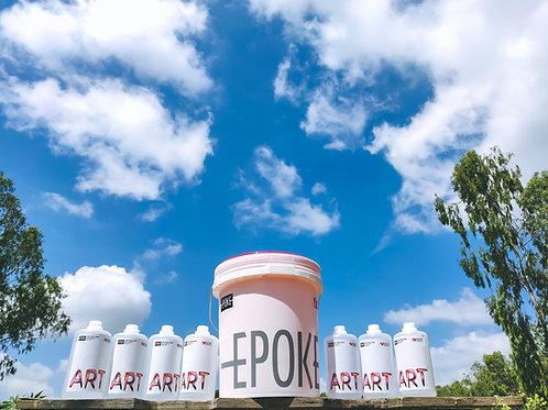 Epoke Art Epoxy Resin Professional Kit (Resin + Hardner) - 28kg