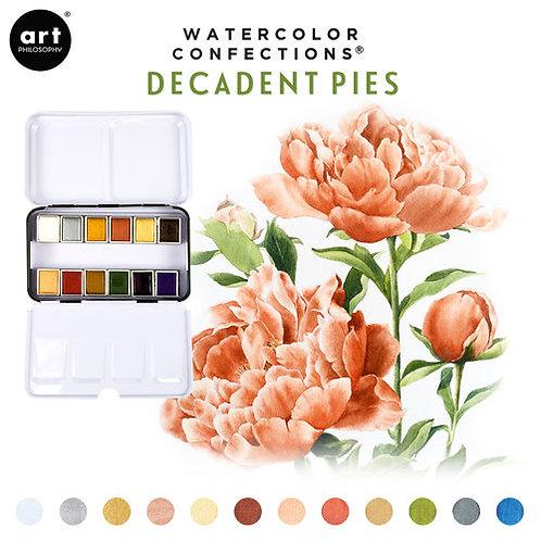 Prima Watercolor Confections - Decadent Pies