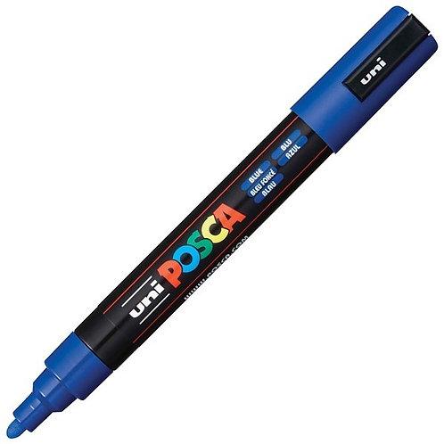 Uni Posca Paint Marker Pen Tip 1.8 - 2.5mm - Blue