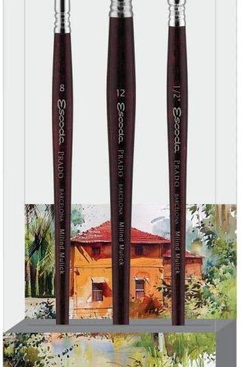Escoda Signature Collection Brush Set - Milind Mulick - Set 1
