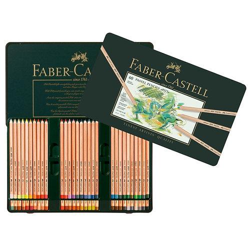 Faber Castell Pitt Artists' Pastel Pencils - Set of 60
