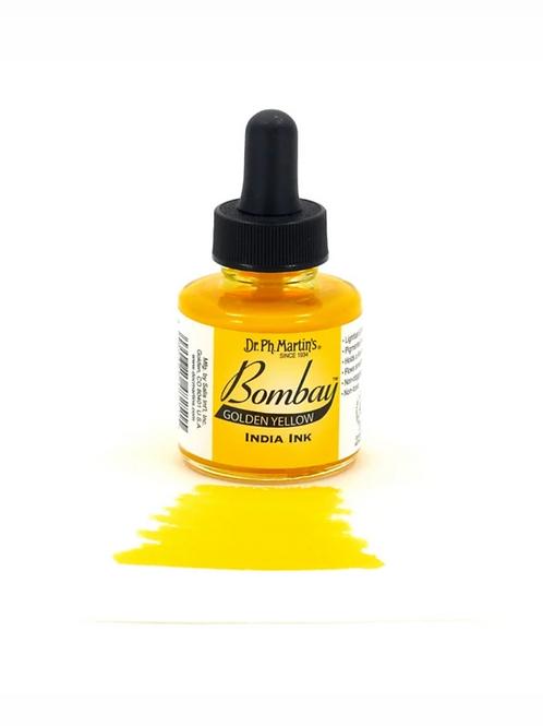 Dr. Ph. Martin Bombay Ink 30ml - Golden Yellow