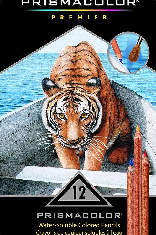 Prismacolor Premier Water-Soluable Colour Pencil - Set of 12