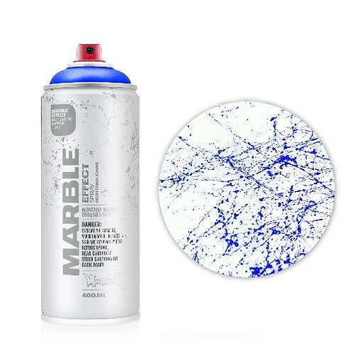 Montana Marble Effect Spray - Marble Blue