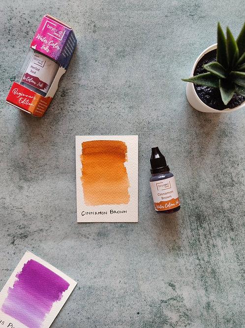 Beyond Inks Watercolor Ink 20ml - Cinnamon Brown