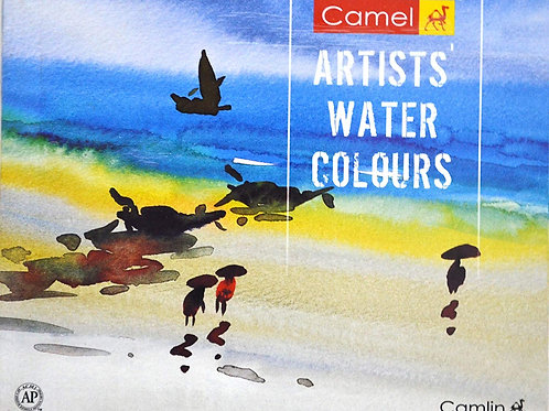 Camel Artist Water Colours - Set of 9ml x 18 shades