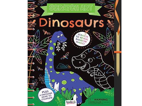 Bookoli Scratch Art - Dinosaurs