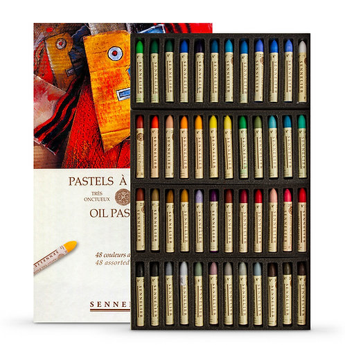 Sennelier Oil Pastel - Set of 48