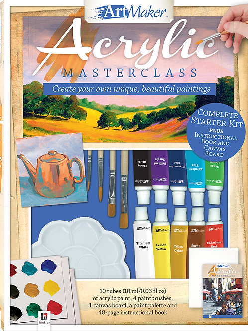 Art Maker Acrylic Paints Kit