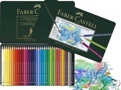 Faber Castell Albrecht Durer Watercolours Colour Pencil - Set of 36