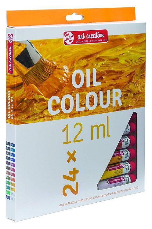 Royal Talens Art Creation Oil Colour - Set of 24x12ml