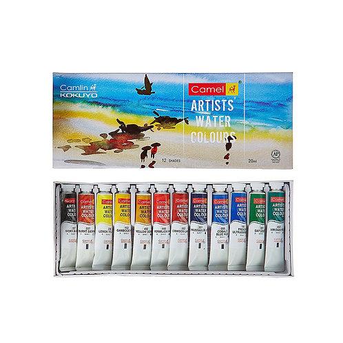 Camel Artist water Colour Set 20ml x 12 shades
