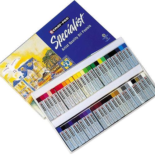 Sakura Cray Pas Specialist Oil Pastel - Set of 50