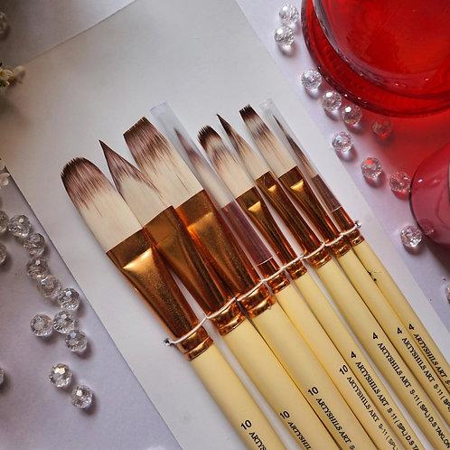 Artyshils Art Long Hair Reservoir Brushes for Painting