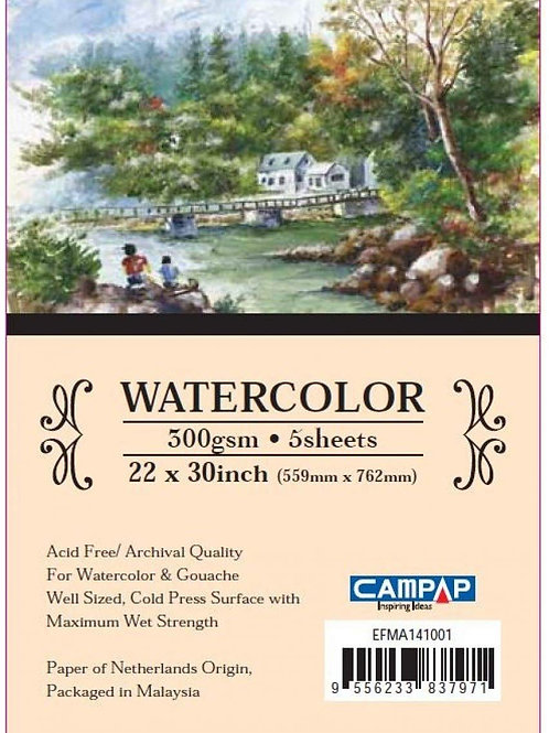 Campap Watercolour Paper Pack Noblesse Series