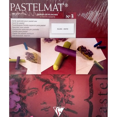 Clairefontaine Pastelmat Pad No.1 Teintes - 7 x 9.5 Inches