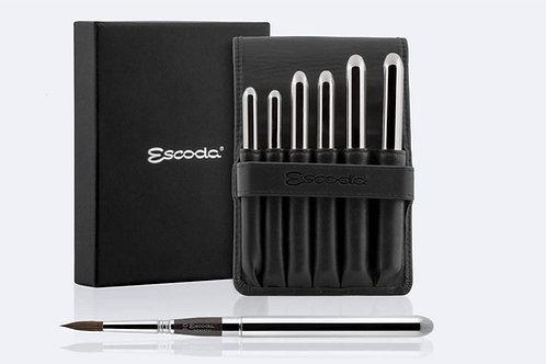 Escoda Versatil Synthetic Kolinsky Sable Hair Brushes - Round Poin