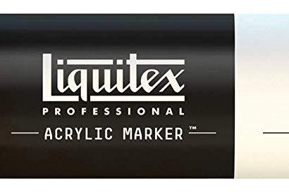 Liquitex 810 Acrylic Paint Marker 15mm Wide - Light Portrait Pink