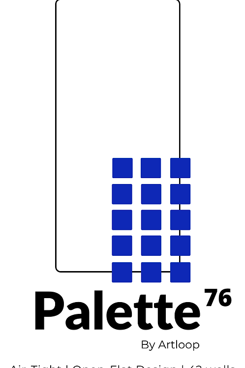 Palette 76 Air Tight Palette by Artloop