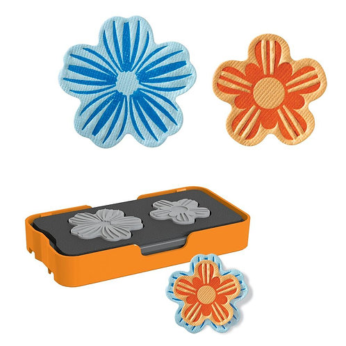 Fiskars Mini Design Set - Thick Mat - Flower