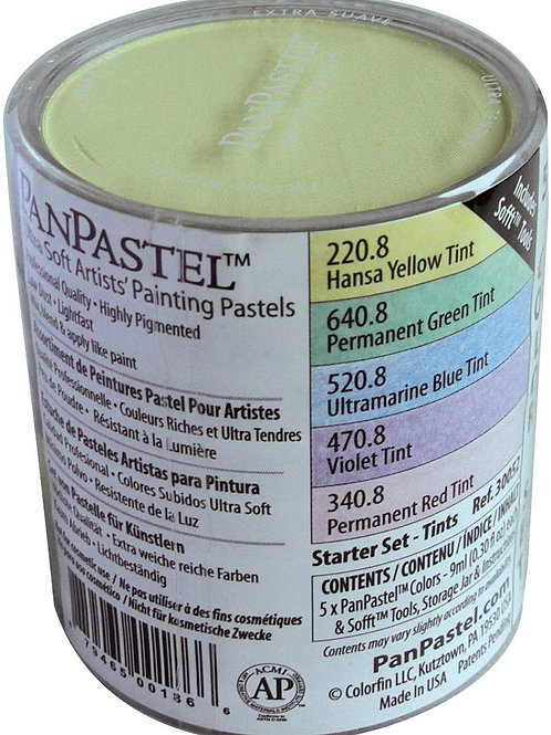 Colorfin Pan Pastel Starters Set of Pastels for Painting - Set of 5 (Code:30052)