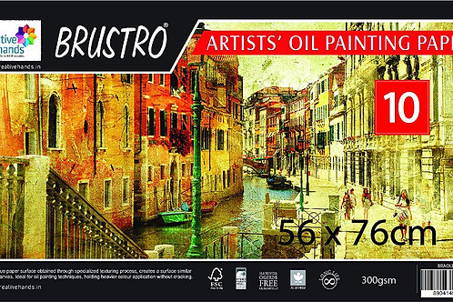 Brustro Artists Oil Painting Paper 300gsm