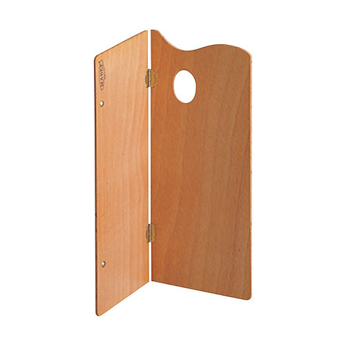 """Mabef Rectangular Wooden Foldable Palette - 30cm x 40cm or 12"""" x 16"""""""