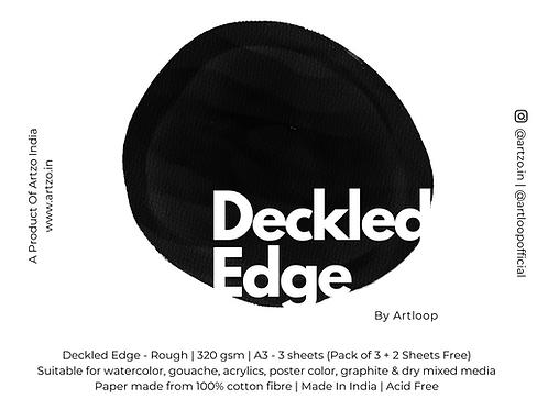 Deckled Edge by Artloop A3 - Rough