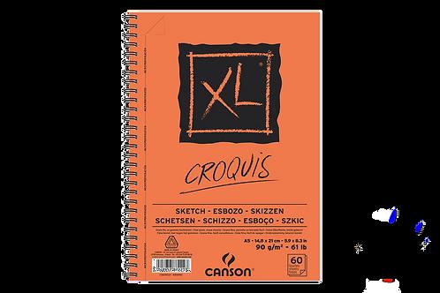 Canson XL Croquis 90gsm A5 Fine Grain Album - 60pages