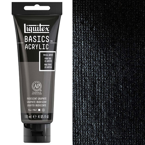 Liquitex Basics Acrylic Colour 118ml - Iridescent Graphite