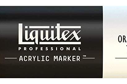 Liquitex 720 Acrylic Paint Marker 15mm Wide - Cadmium Orange Hue