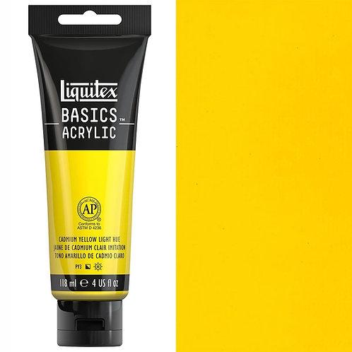 Liquitex Basics Acrylic Colour 118ml - Cadmium Yellow Light Hue
