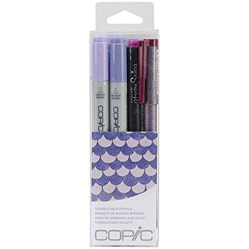 Copic Ciao Doodle - Purple Set of 4