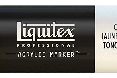 Liquitex 163 Acrylic Paint Marker 15mm Wide - Cadmium Yellow Deep Hue