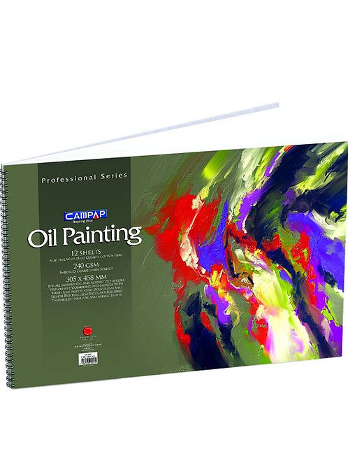 Campap Professional Oil Color Painting Sheets - 305x485mm