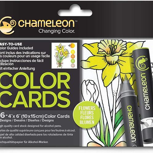 Chameleon Colour Cards ‐ Flowers