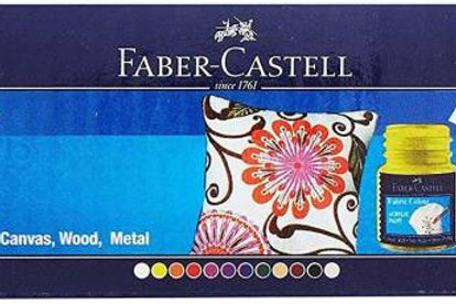 Faber Castell Fabric Colour - Set of 12
