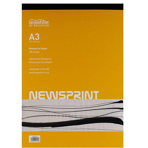 Seawhite of Brighton Newsprint Paper Pad - A3